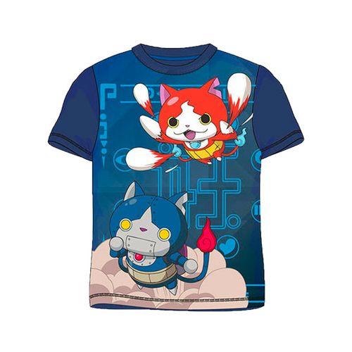 Yo-Kai Watch Camiseta Azul Marino