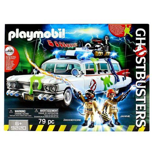 Playmobil Cazafantasmas Ecto-1 con Winston y Janine