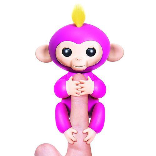 Fingerlings Bebé Mono Rosa
