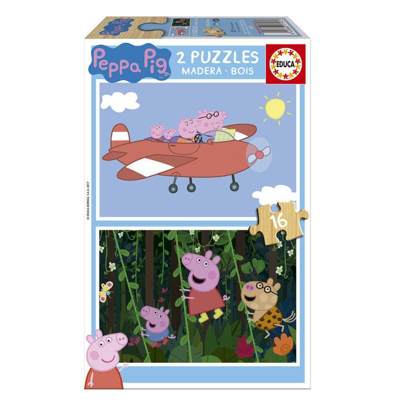 Peppa-Pig-Puzzle-2x16-Piezas