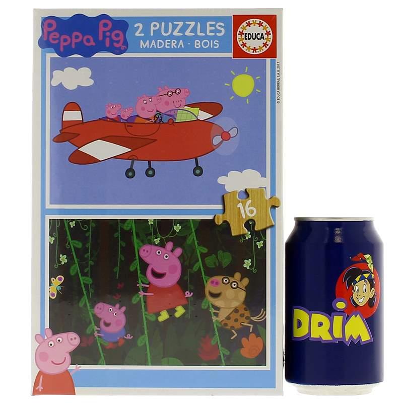 Peppa-Pig-Puzzle-2x16-Piezas_2