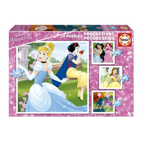 Princesas Disney Puzzles Progresivos