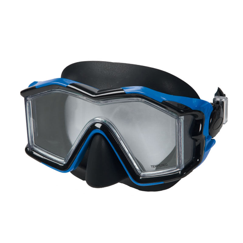 Gafas-de-Buceo-Explorer-Azules-de-Silicona