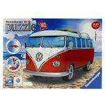 Puzzle-Furgoneta-Volkswagen-3D