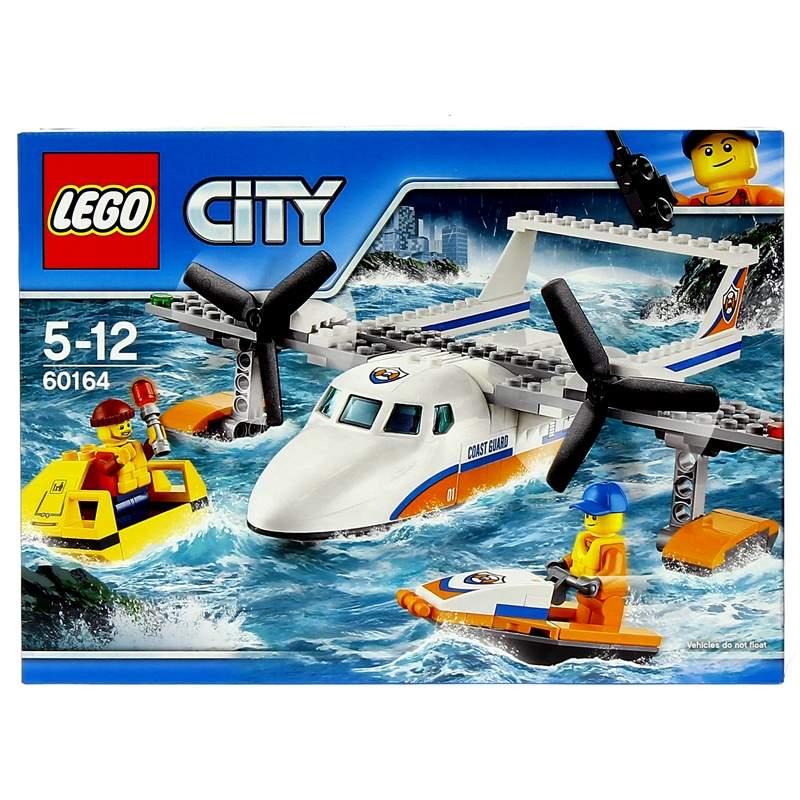 Lego-City-Avion-de-Rescate-Maritimo