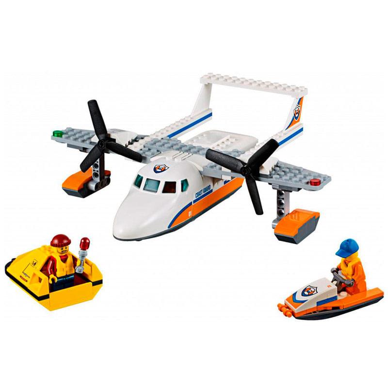 Lego-City-Avion-de-Rescate-Maritimo_1