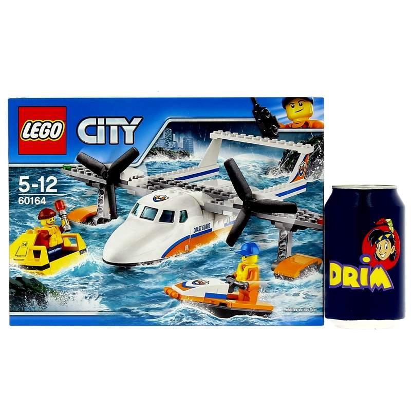 Lego-City-Avion-de-Rescate-Maritimo_5