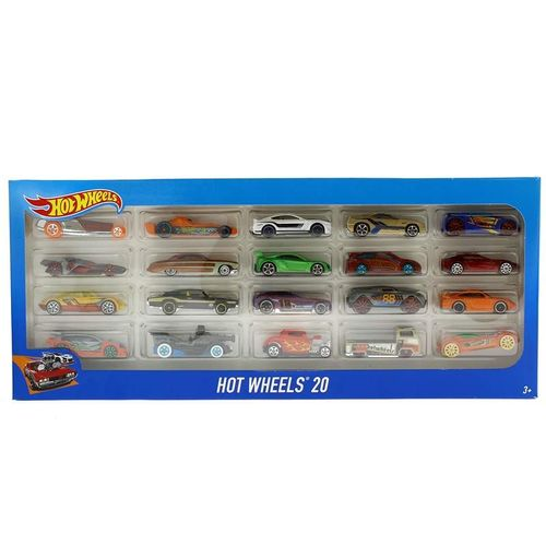 Hot Wheels Pack 20 Vehículos
