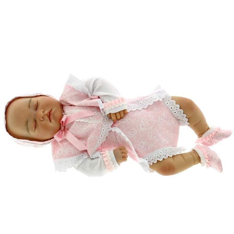 Reborn-Bebe-Leo-Dormido-con-Traje-Rosa_1