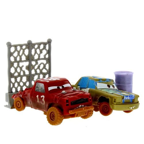 Cars 3 Pack 2 Coches Locos T-Bone y Jimbo