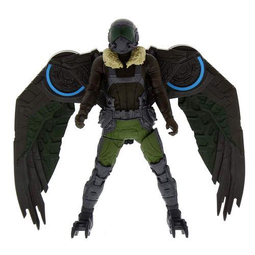 Spiderman Web City Lanza Redes Vulture