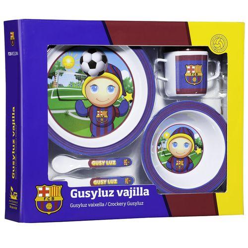 Set Vajilla 6 pzas Gusy Barça