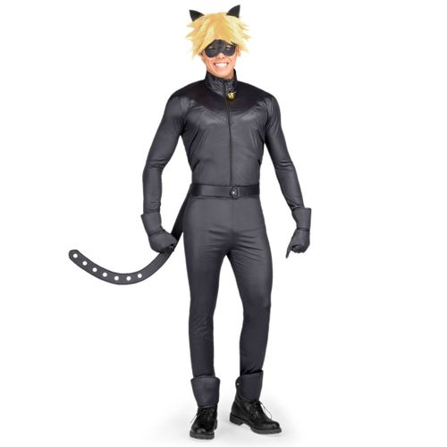 Ladybug Disfraz Catnoir Hombre