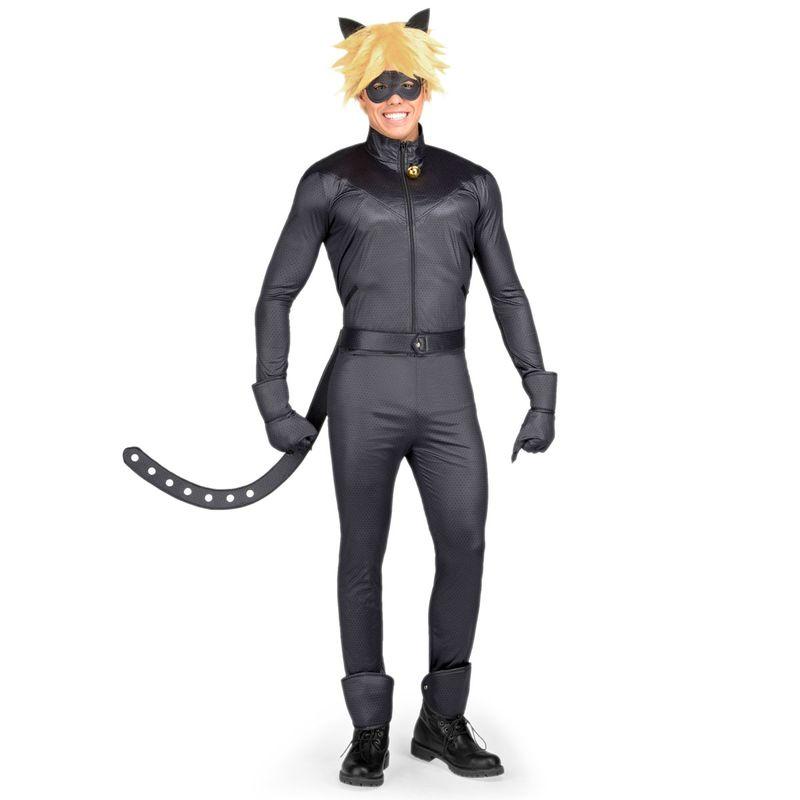Ladybug-Disfraz-Cat-Noir-Hombre-S