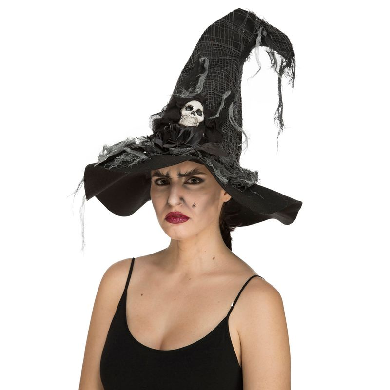 Accesorio-Halloween-Sombrero-de-Bruja