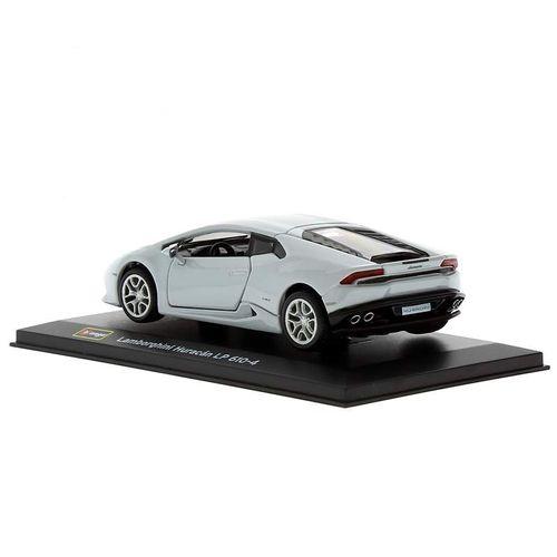 Coche Miniatura Lamborghini Huracán Peana y caja Escala 1:32 Plus