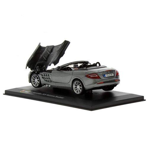 Coche Miniatura Mercedes Roadster Peana y caja Escala 1:32 Plus