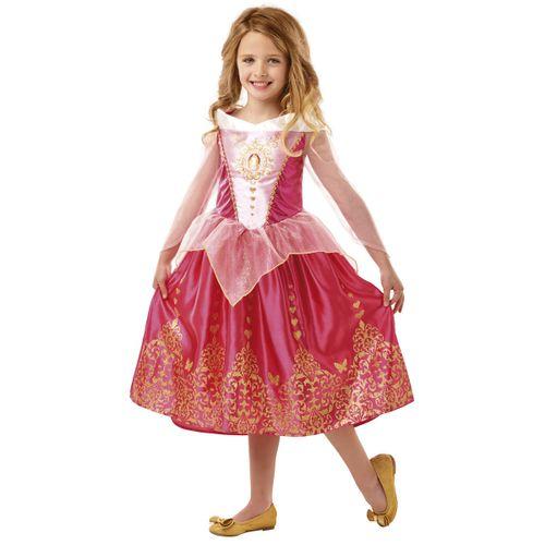 Princesas Disney Bella Durmiente Disfraz Infantil