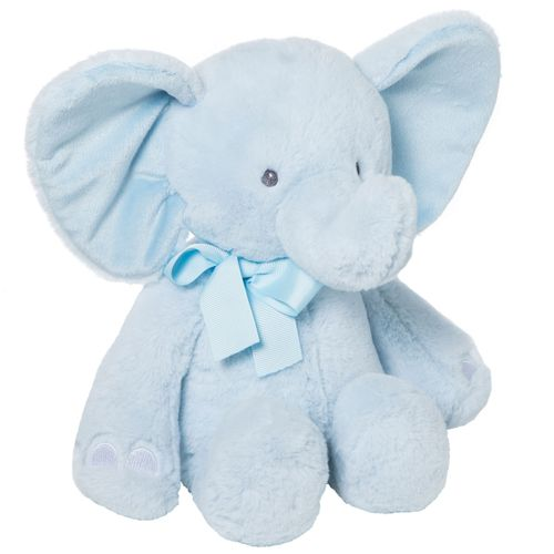 Peluche Baby Elefante Celeste de 26cm