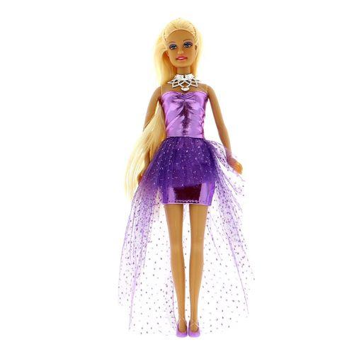 Muñeca Defa Lucy Vestido de Fiesta Lila