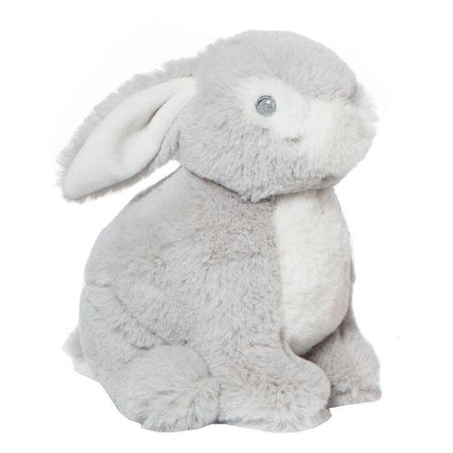 Peluche Baby Conejo Gris de 22cm