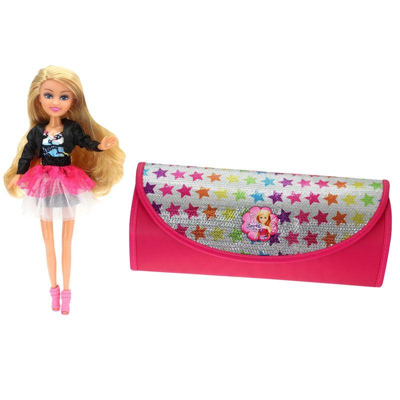 Muñeca-Sparkle-Girl-con-Bolso