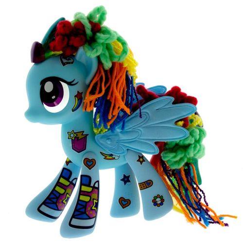 My Little Pony Rainbow Dash Decora tu Pony