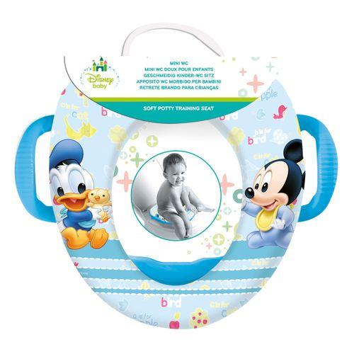 Reductor WC acolchado con asas Mickey
