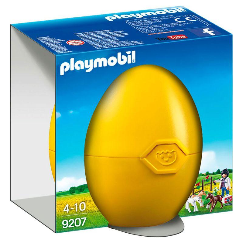 Playmobil-Country-Huevo-Amarillo-Veterinaria-con-Ponis