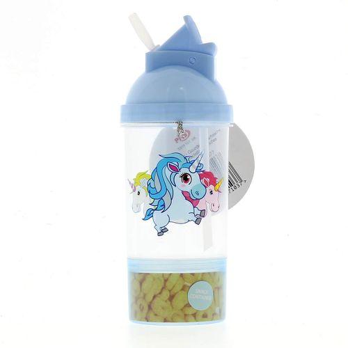 Cantimplora 3 Unicornios Azul