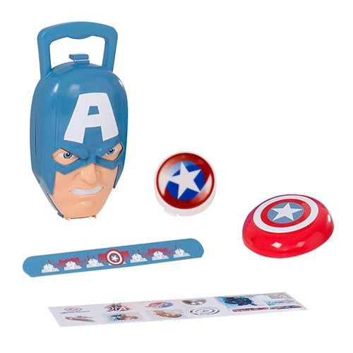 Capitán América Maletín con Accesorios