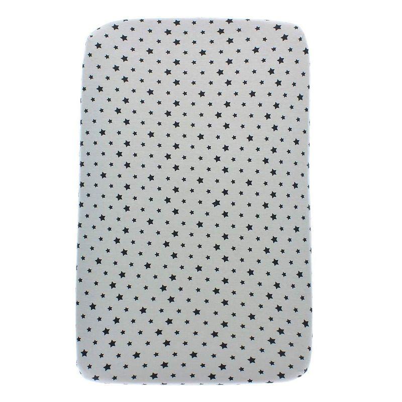 Bajera-Minicuna-en-punto-algodon-Estrellas-gris