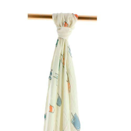 Muselina de bambú 120x120 Icecream