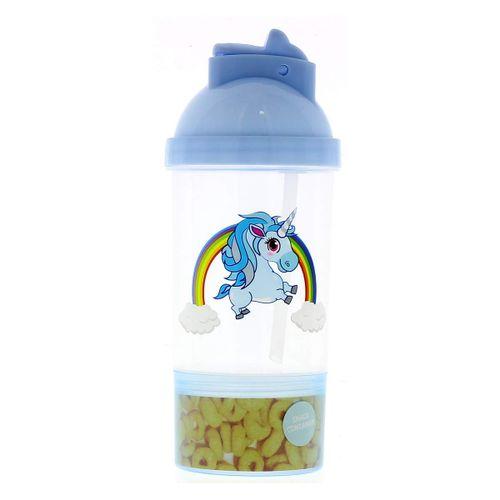 Cantimplora Unicornio Azul