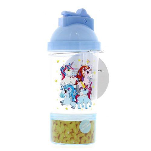 Cantimplora 4 Unicornios Azul