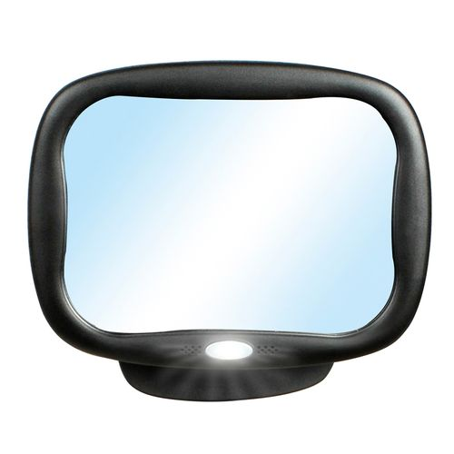 Espejo trasero con luz 21x16 cm