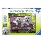Puzzle-Cachorros-Labrador-de-100-Piezas-XXL