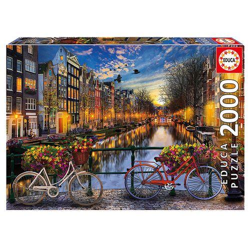 Puzzle de Ámsterdam de 2000 Piezas