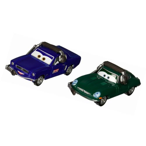 Cars Pack de 2 Coches Brent Mustangburger y David Hobbscapp