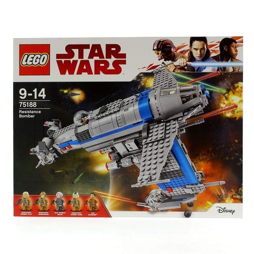 Lego Star Wars Bombardero de la Resistencia
