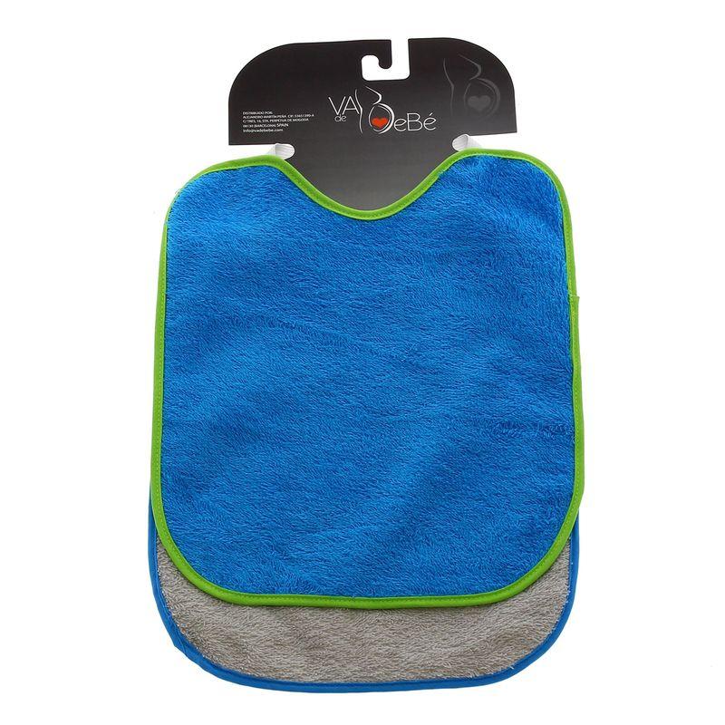 Pack-2-Baberos-rizo-con-goma-cuello-Azul-y-Gris