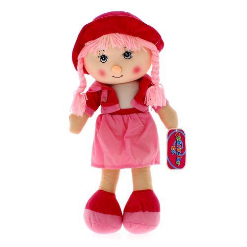Muñeca de Trapo Rosa 50 cm