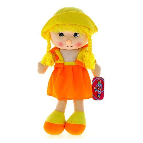 Muñeca de Trapo Amarilla 50 cm