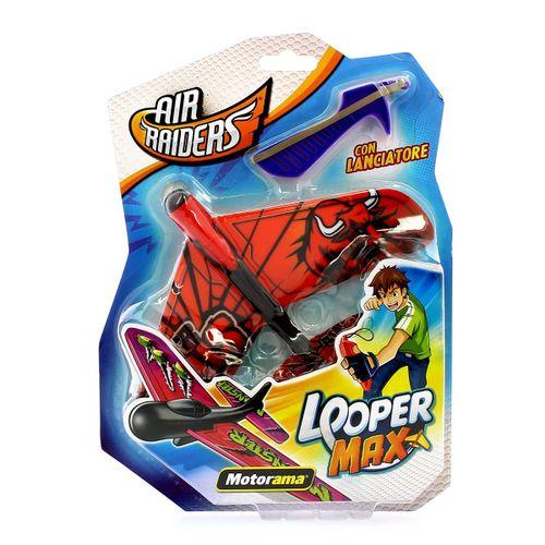 Air Raiders Looper Max Rojo