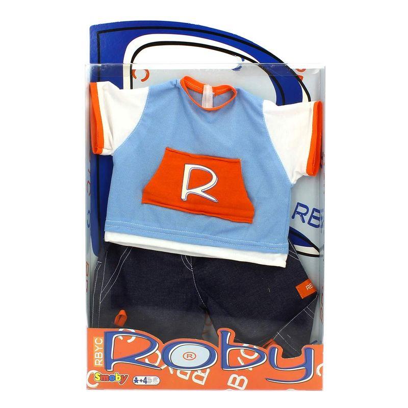 Muñeco-Roby-Conjunto-Camiseta-Azul-y-Pantalon-Tejano
