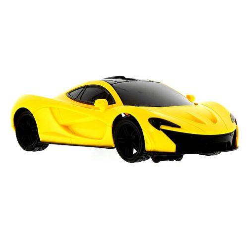 Vehículo de Racing con Luz Amarillo