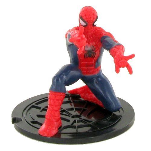 Spiderman Figura Agachado de PVC