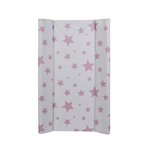 Cambiador Rígido Con Topes Estrellas Rosa