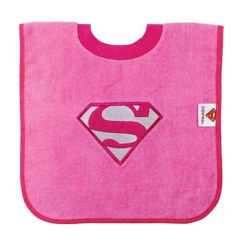 Babero con cuello camiseta Supergirl