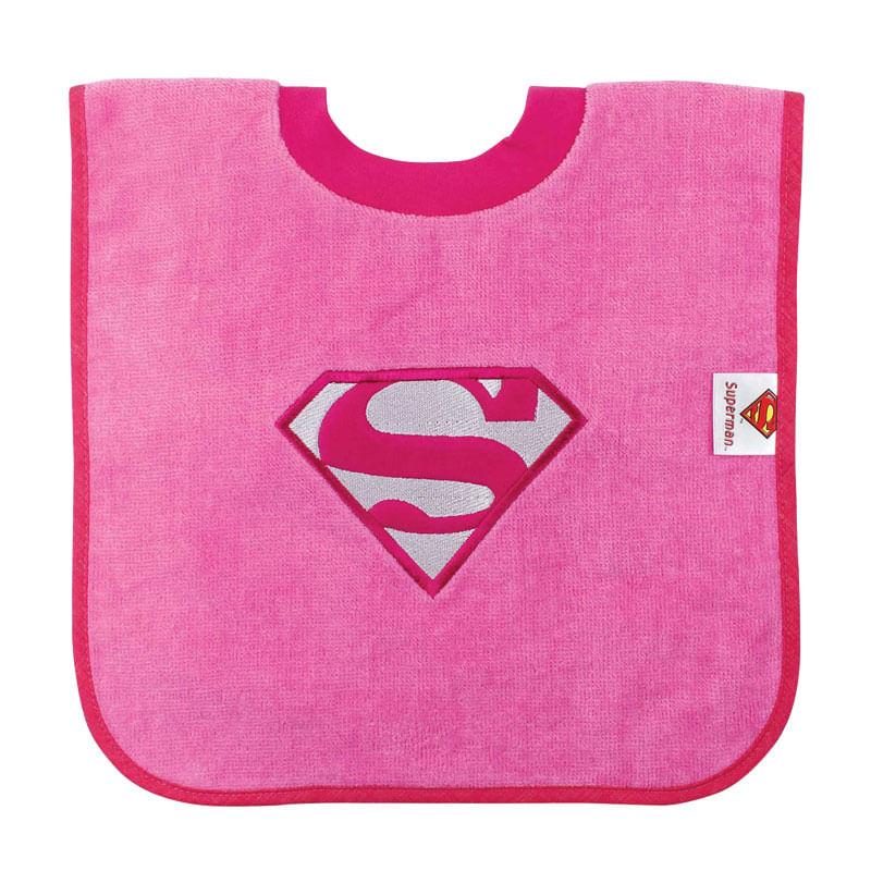 Babero-con-cuello-camiseta-Supergirl